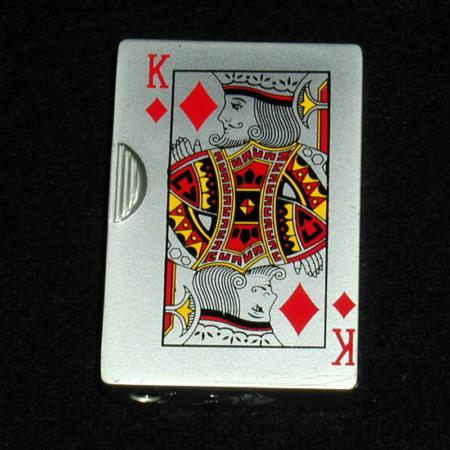 King of Diamonds Lighter by Unknown