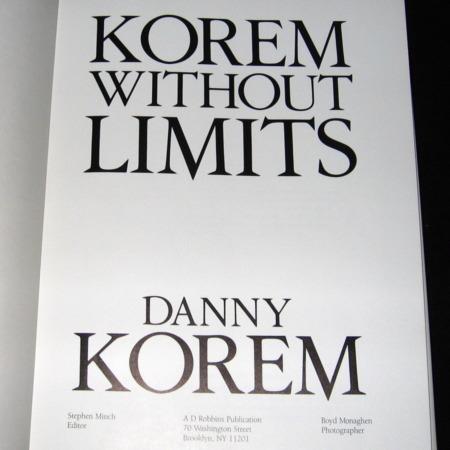 Korem Without Limits by Danny Korem