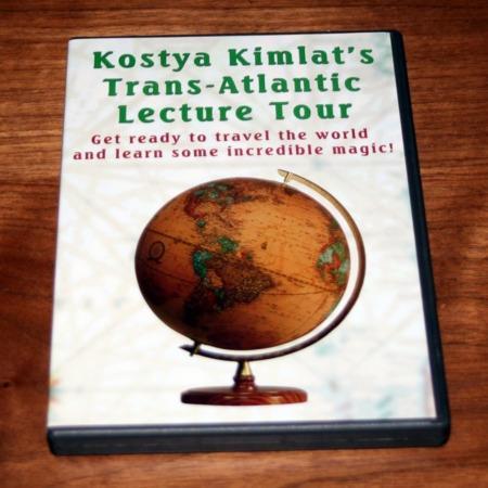 Trans-Atlantic Lecture Tour DVD by Kostya Kimlat