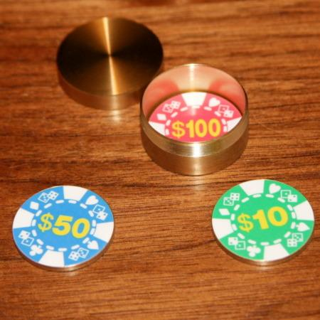 Blind Sight Poker Chip by Kreis Magic