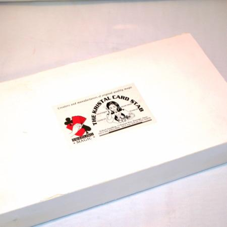 Krystal Card Stab by Bob Swadling