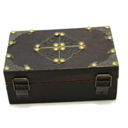 Large Medieval Card Box by Viking Mfg.