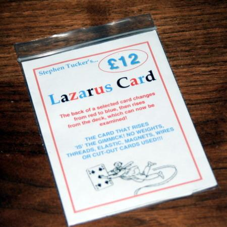 Lazarus Card by Stephen Tucker