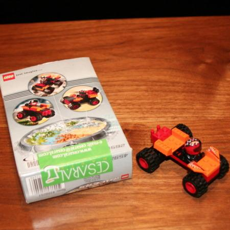 Lego Car by Cesaral