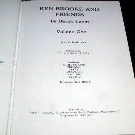 Ken Brooke and Friends by Anthony Brahams