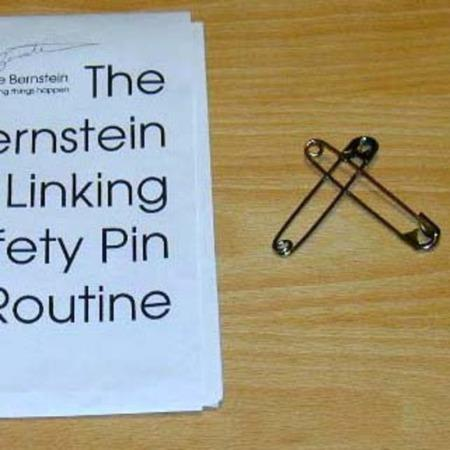Bernstein Linking Safety Pin Routine by Bruce Bernstein