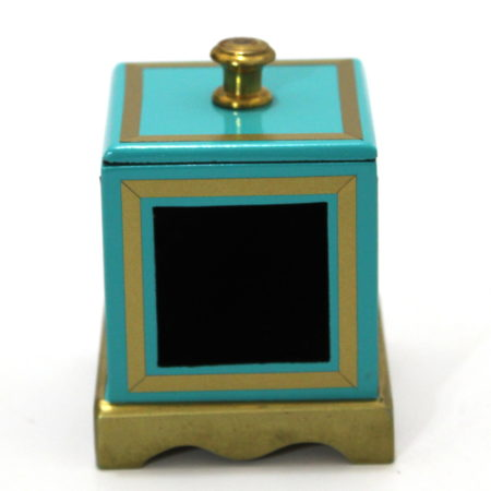 Little Box (Teal) by Clarence Miller