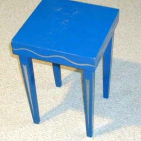 Crazy Fallapart Stool by Supreme Magic  Company
