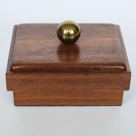 Locking Card Box (MW) by Milson-Worth