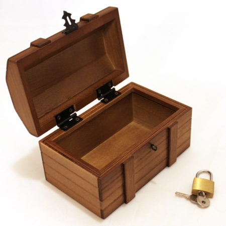 Locked Treasure Chest - Shiomi Box by Mikame Craft