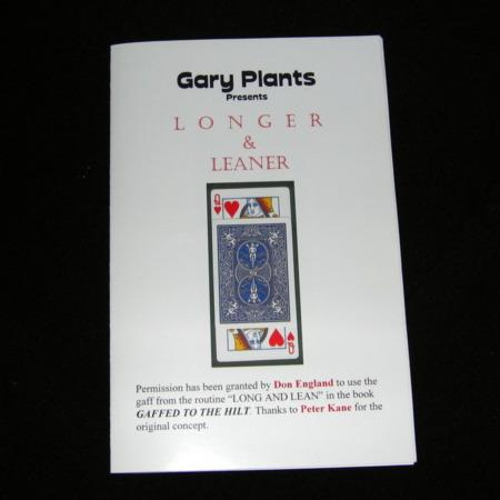 Longer and Leaner by Gary Plants