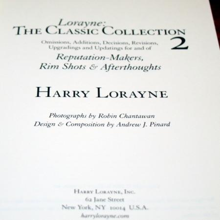 Lorayne: The Classic Collection 2 by Harry Lorayne