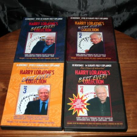 Lorayne's Best Ever Collection - Vols. 1-4 DVD by Harry Lorayne
