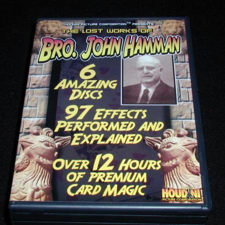 Lost Works of Bro. John Hamman DVDs by Houdini Picture Corporation