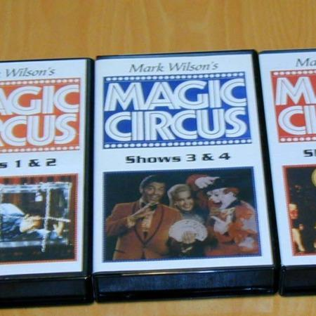 Magic Circus Videos (3 volumes) by Mark Wilson