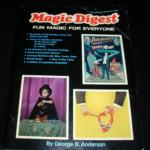 Magic Digest - Fun Magic For Everyone by George B. Anderson