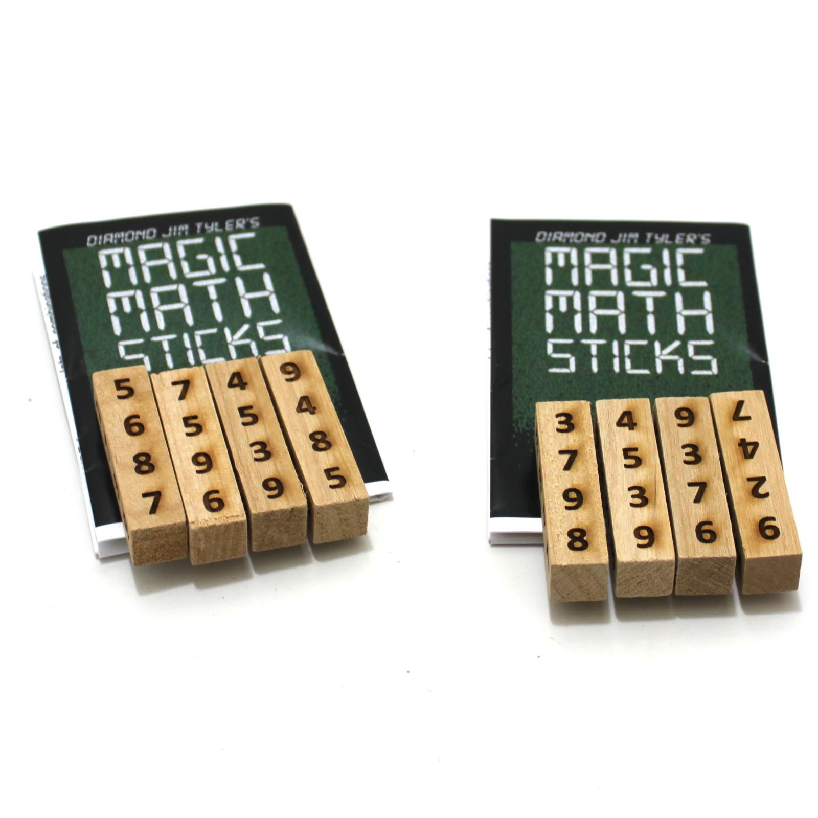 Magic Math Sticks by Diamond Jim Tyler