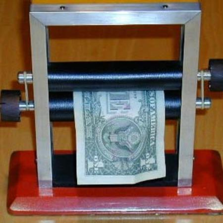 Magic Note Printing Machine by Sam Dalal