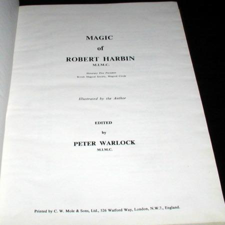 Magic of Robert Harbin by Robert Harbin