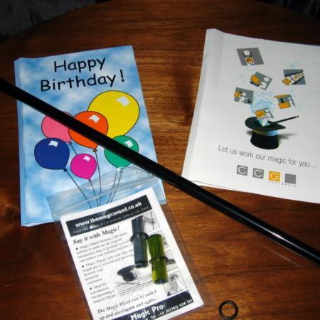 Magic Wand and Magic Card by Magic Pro