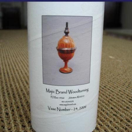 Majic Pillbox No. 24 by Majic Woodturning