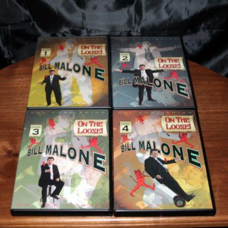 On The Loose - Vols. 1-4 DVD by Bill Malone