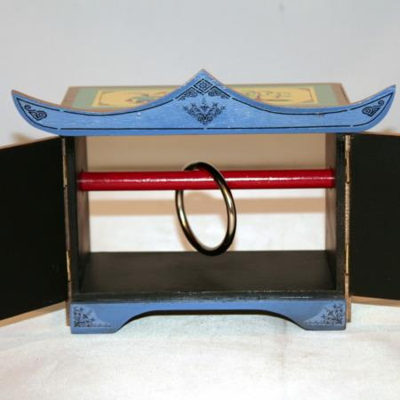 Mandarin Wand and Ring Cabinet by Michael Baker