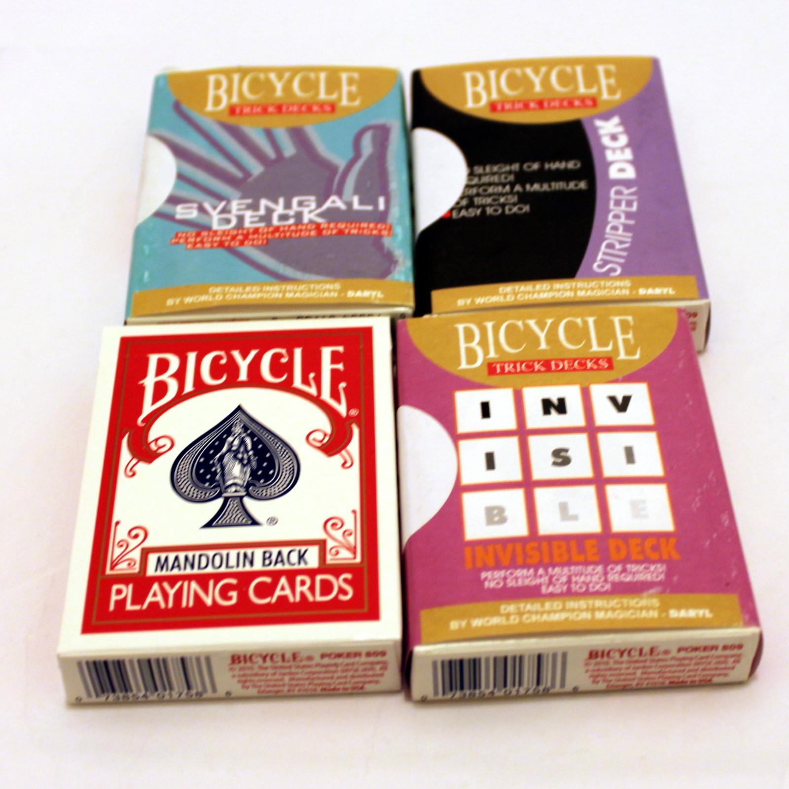 Mandolin Back Card Set by USPC