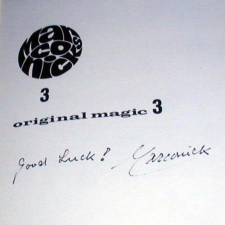 Marconick Original Magic, Vol. 3 by Marconick