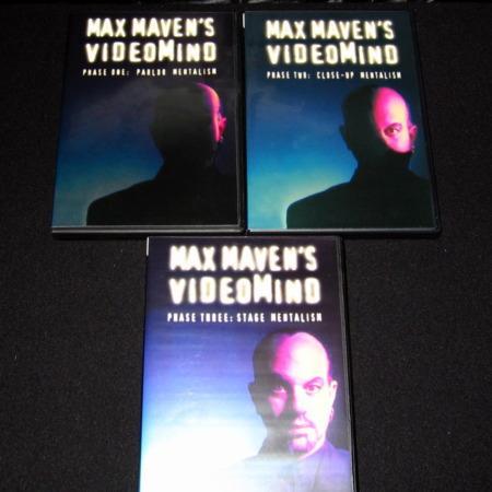 Max Maven's Videomind  - Vols. 1-3 DVD by Max Maven