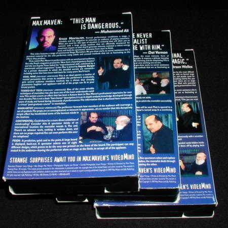 Max Maven's Videomind (3 volumes) by Max Maven
