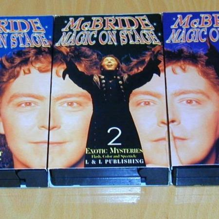 McBride- Magic On Stage (3 volumes) by L&L Publishing