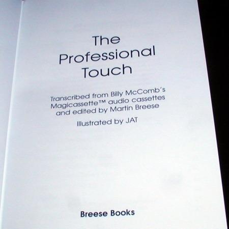 Professional Touch, The by Billy McComb