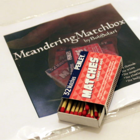 Meandering Matchbox by Bob Solari Magic