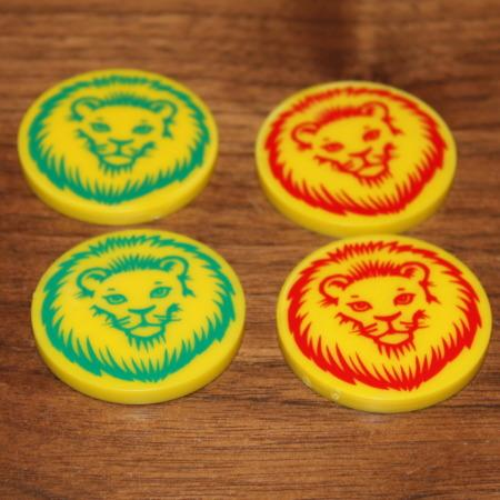 Medal-Lions by Marcelo Contento