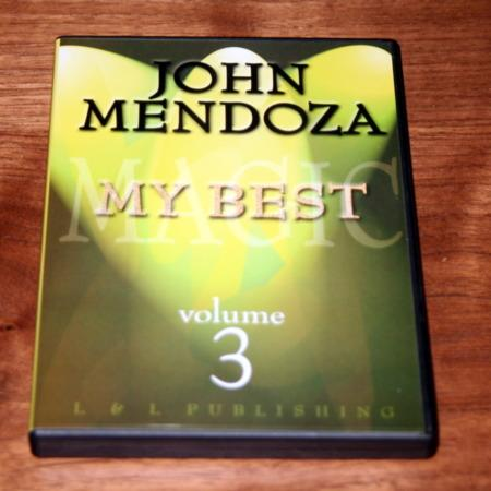 My Best - Vol. 3 DVD by John Mendoza