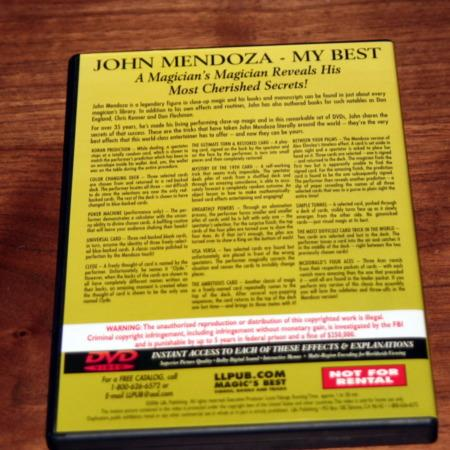 My Best - Vol. 3 DVD by John Mendoza