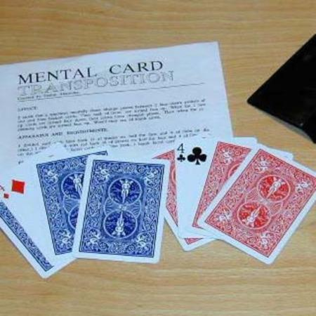 Mental Card Transposition by E/Z Magic