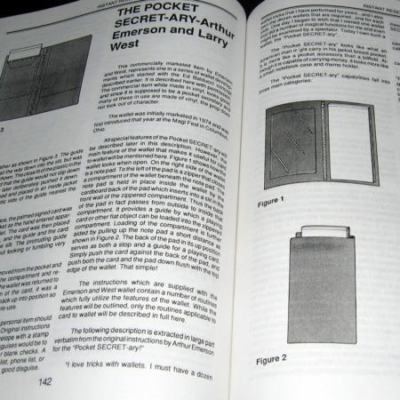 Card To Wallet Book by Jerry Mentzer