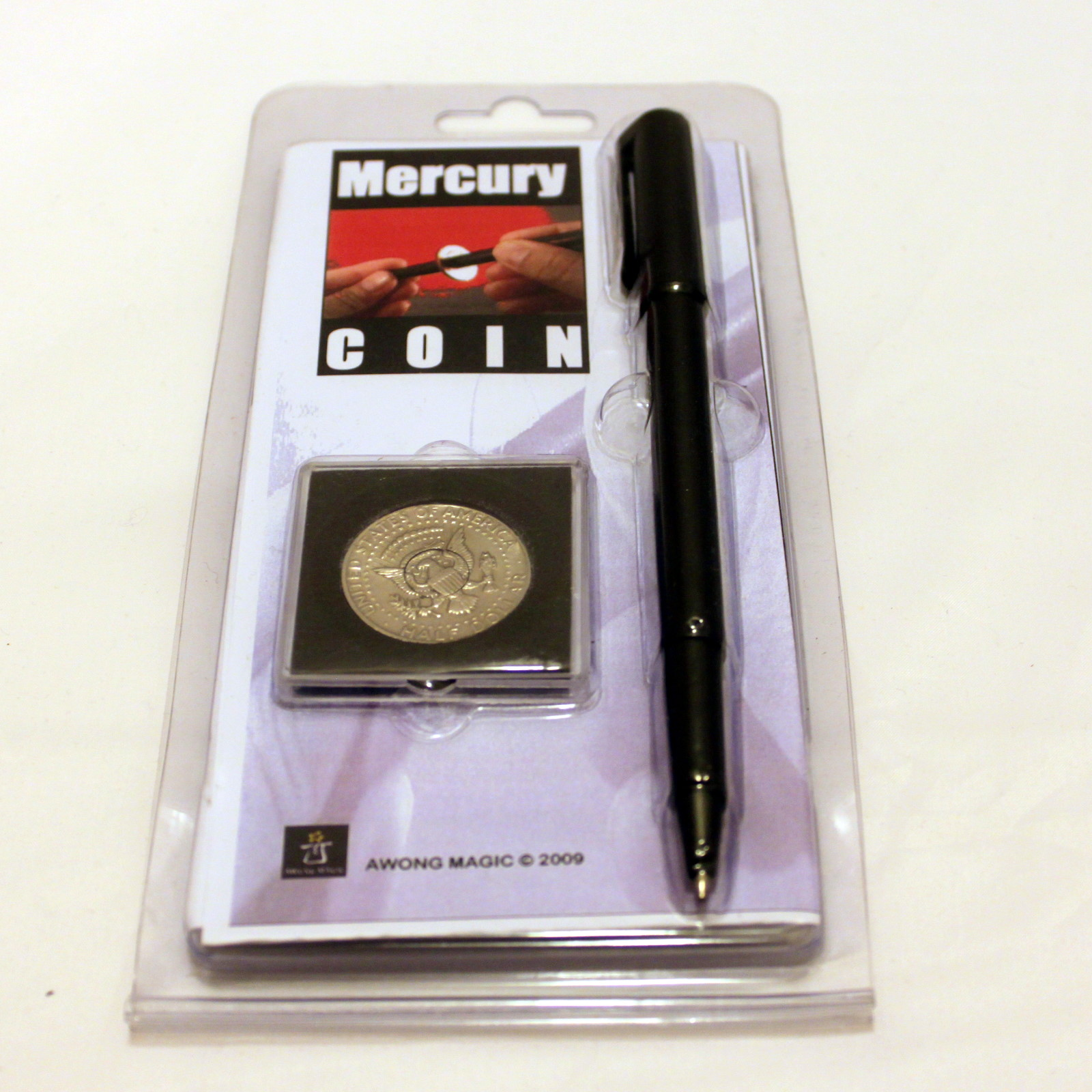 Mercury Coin by Alan Wong