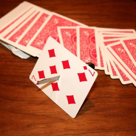 Mid Air Card Stab (with CD) by John Kennedy