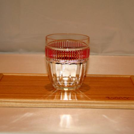 Glass and Tray by Mikame Craft