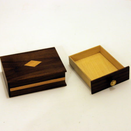 Miller Card Drawer Box by Clarence Miller