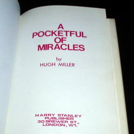 A Pocketfull of Miracles by Hugh Miller