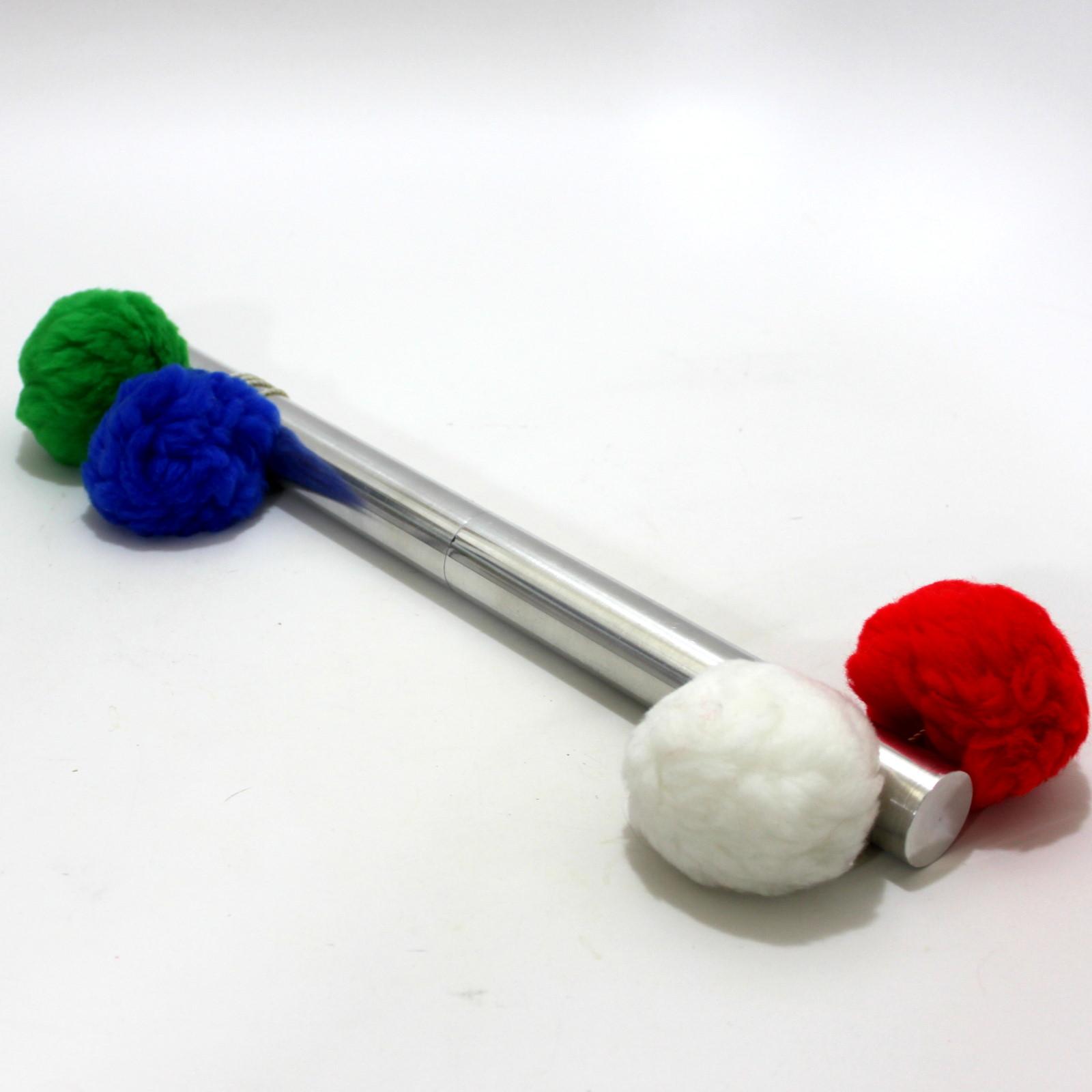 Pop-Pom Prayer Stick (Milson-Worth) by Milson-Worth