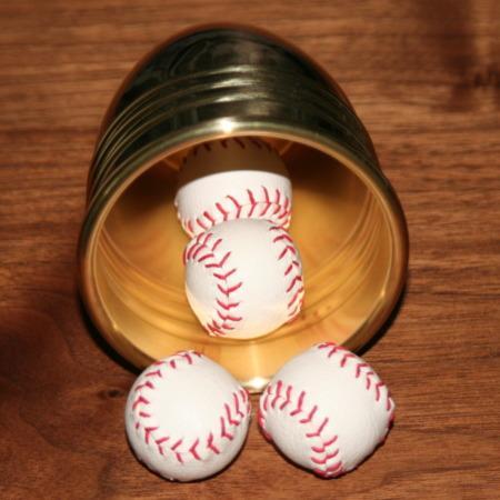Combo Mini Baseballs by Simply Magic