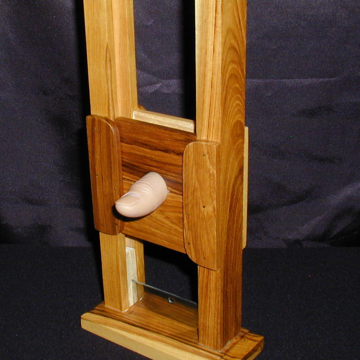 mini guillotine by mak magic martin 39 s magic collection. Black Bedroom Furniture Sets. Home Design Ideas