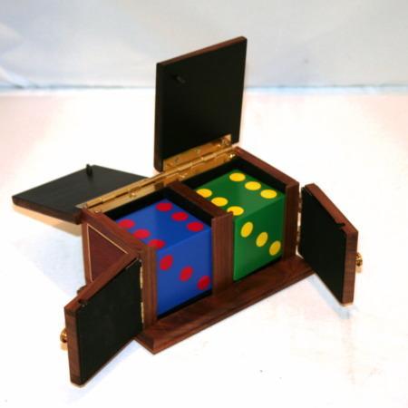 Rainbow Die Box (Small) by Mel Babcock