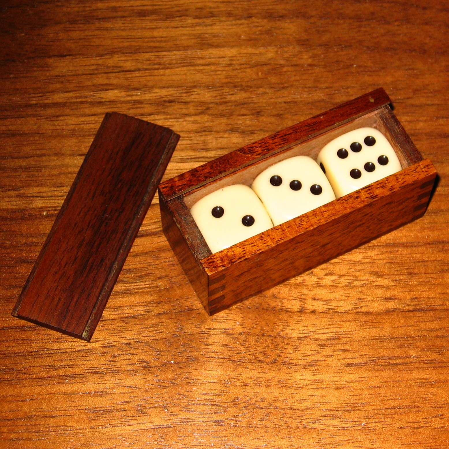 Mysterious Dice Cabinet by Bill Adams