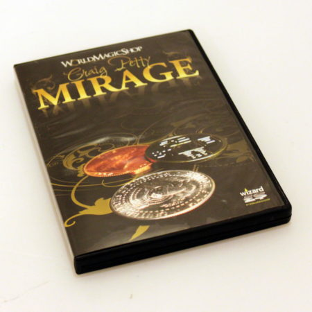 Mirage Coin Set (with DVD) by Craig Petty